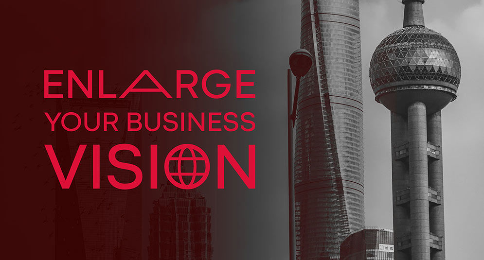Enlarge your business vision - Visuel marque du programme Global Executive MBA de KEDGE
